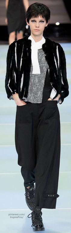 Fall 2014 Ready-to-Wear Emporio Armani