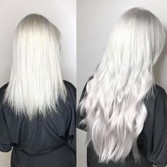 5 Before-And-After Extensions Transformations You Have To See Ice Blonde, Brown Blonde, Blonde Brunette, Derby, Tape In Extensions, Hair Goals, Dyed Hair, Straight Hairstyles, Amy