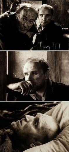 Stalker (1979) Directed by Andrei Tarkovsky. Cinematography by Aleksandr Knyazhinsky, Georgi Rerberg, Leonid Kalashnikov.
