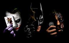 Zdarma Two Face Batman Joker HD Tapety na plochu