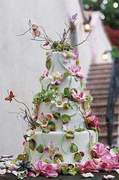 Wedding cake, bijzondere bruidstaart