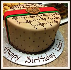 My Gucci Cake Fashion Cakes Photo Editor Cup Birthday