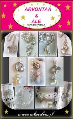 www.alisevkoru.fi  Alisev - koru: ARVONTAA & kaikki korut ALE !!! Ale, Diamond Earrings, Brooch, Jewelry, Jewlery, Bijoux, Brooches, Schmuck, Ales