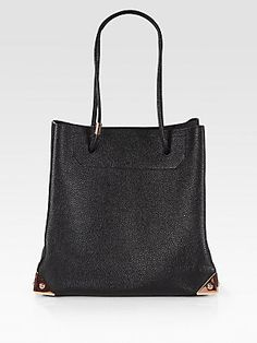 Alexander Wang Prism Pebble-Textured Leather Tote