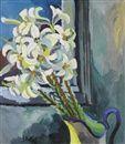 Lilien by Karl Schmidt-Rottluff