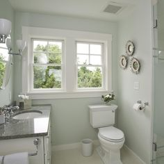 What Color Paint In Small Bathroom