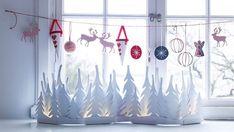 HappyModern.RU | Украшение окон к Новому году из бумаги: трафареты и вдохновляющие идеи для встречи 2017 года | http://happymodern.ru