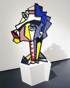 Expressionist Head, 1980, Roy Lichtenstein