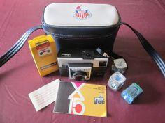 Kodak Instamatic Camera 1971 Case Film Flash by MountainShine, $15.00