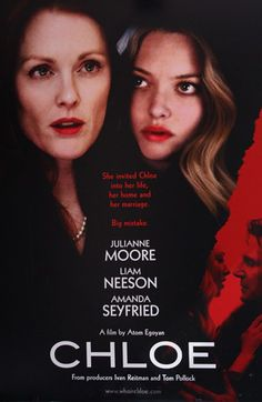 Loved this movie! Always love Julianne Moore but Amanda Seyfried is a revelation! Liam Neeson oscillates between slimy & righteous. Great acting & super sexy!