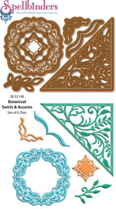 Spellbinders Nestabilities are paper cutting and embossing dies sold in sets They create paper shapes at 1/4th and 1/8th inch increments that help create cards and scrapbooking pages with stunning visual effects. They are universal and work in most die cu