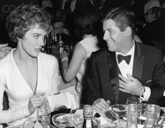 Jerry Lewis and Julie Andrews CLASSIC Old Hollywood Glamour, Hollywood Actor, Vintage Hollywood, Hollywood Stars, Classic Hollywood, Jerry Lewis, Christopher Plummer, Actor Studio, Old Movie Stars