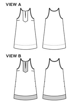 Neckline idea - The Colfax Dress sewing pattern by True Bias is an A-line shift dress with a geometric yoke and bias-bound armscyes. Sew Your Own Clothes, Next Clothes, Dress Sewing Patterns, Clothing Patterns, Fashion Design Classes, Club Outfits For Women, Diy Dress, Wrap Dress, Clubbing Outfits