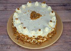 Tegnap volt Anya születésnapja és bár hadakozott, hogy ne süssek tortát, nincsen születésnap torta nélkül, így hajthatatlan voltam. 2 é... Vanilla Cake, Tiramisu, Paleo, Gluten, Ethnic Recipes, Desserts, Cukor, Food, Tailgate Desserts