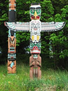 Totem Pole In Vancouvers Stanley Park