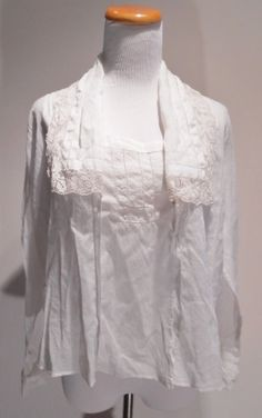 Post World War I Delicate Lace Embroidered by BeautimousVintage