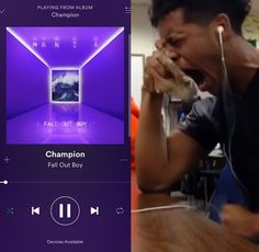 Fucking me // <<That's too calm. THIS IS FUCKING ME RN OML THE SONG IS GREAT