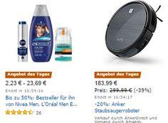Amazon: Nivea & Co für einen Tag stark reduziert https://www.discountfan.de/artikel/technik_und_haushalt/amazon-nivea-co-fuer-einen-tag-stark-reduziert.php Amazon macht's nochmal: Für einen Tag sind Pflege-Artikel von Nivea, L'Oréal und anderen Herstellern mit teils deutlichen Preisabschlägen zu haben – im Rahmen der Aktion sind knapp 100 Artikel reduziert im Angebot. Amazon: Nivea & Co für einen Tag stark reduziert (Bild: Ama... #Körperpflege,