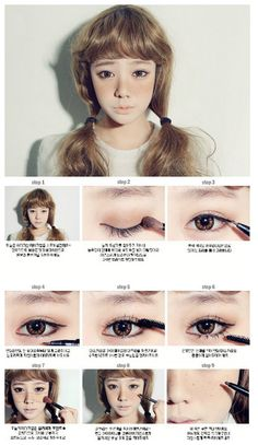 Ulzzang freckles......I want freckles they make girls look so much more cuter and more innocent >w