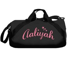 Aaliyah dance | A wonderful and professionally made dance bag for the serious dancers. Pick from various colours and you can customize it to be your very own.