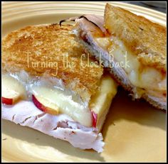 Grilled Cheese #Recipe: Turkey and Brie with Apricot