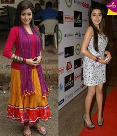 Different styles of Tina Dutta