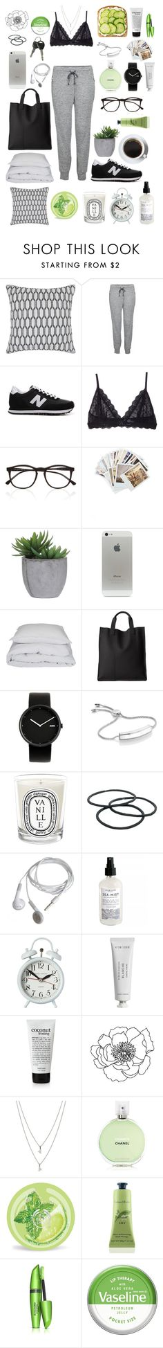 """""""Sans titre #158"""" by izaza ❤ liked on Polyvore featuring Chandra Rugs, LnA, New Balance, Eberjey, Illesteva, Chronicle Books, Lux-Art Silks, By Nord, ECCO and Alessi"""