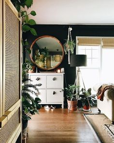 35+ Gorgeous Living Room Ideas with Dark Hardwood Floors #Dark #Hardwood #Floors #livingroom #kitchen #modern #decor Natural hardwood is undoubtedly one of the most beautiful flooring materials available. A durable, dark hardwood floor is not only practical, but aesthetically ...