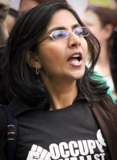 Kshama Sawant : socialist candidate for Seattle city council