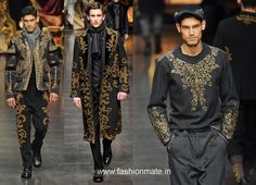 men's raw silk pants | Indian influence on Milan Mens Fashion Week Autumn-Winter 2012 in ...