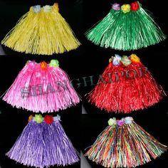 KIDS Hawaiian Hula Grass Skirt.