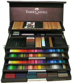 Faber-Casttel 250 aniversary. The artist in me is screaming!
