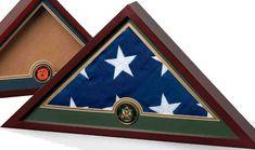 Military Flag Display case