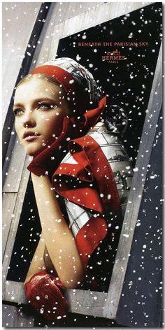 Winter Affluence- Beneath The Parisian Sky - ~LadyLuxuryDesigns