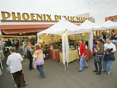 27 farmers markets to pick up fresh, local ingredients in metro Phoenix Phoenix Restaurants, Downtown Phoenix, Urban Farmer, Tucson, Craft Fairs, Farmers Market, Holiday Crafts, Arizona, Places To Go