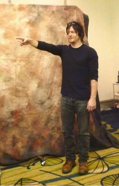 'The Walking Dead' actor Norman Reedus attends a metting with fans on January 20 2012 in Taipei Taiwan of China