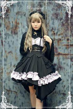 Neverland Lolita [-✙-Night of The Blazing Angels-✙-] Corset JSK