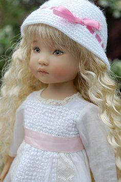 "13"" Effner Little Darling doll"