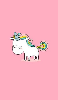 Adorable cute unicorn to cheers up your days Unicorn Wallpaper Cute, Cute Disney Wallpaper, Wallpaper Iphone Disney, Cute Cartoon Wallpapers, Kawaii Wallpaper, Pastel Wallpaper, Cute Wallpaper Backgrounds, Unicorn Drawing, Unicorn Art