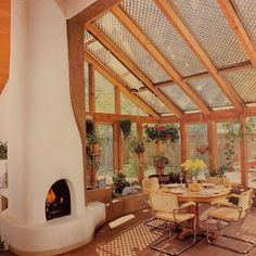 "image - Los Angeles Times ""California Home Book"" 1982 Informations About image Pin You can easily use my - Interior Architecture, Interior And Exterior, 80s Interior Design, 1980s Interior, Architecture Wallpaper, Sustainable Architecture, Residential Architecture, Earthship Home, Earthship Design"