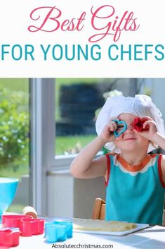Looking for Gifts for Kids who love to cook? Here are the best presents for young chefs that they will love! Looking for Gifts for Kids who love to cook? Here are the best presents for young chefs that they will love! Christmas Gifts For Boys, Gifts For Kids, Tween Ages, Masterchef Junior, Cup Decorating, Tween Gifts, How To Make Breakfast, Fun Cooking, Holiday Gift Guide