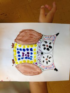 Aboriginal art with natural objects - inquiry in grade 3
