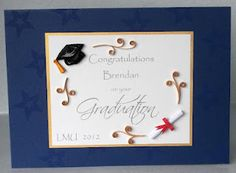 Quilled graduation