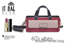 Dp&K It bag Elsa_double handle bag