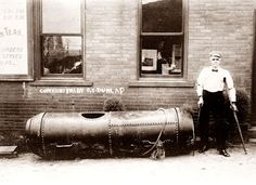 Bobby Leach was the second person to survive a trip over Niagara Falls in a barrel. He accomplished this in 1911. He spent the next six months in the hospital recovering from broken knee caps and various other traumatic injuries.