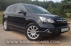 Best prices on new and used cars in Kenya @ www.nairobicars.com 2007 Honda CR-V http://www.nairobicars.com/views/Honda_CR-V_4_Wheel_Drive_2007-675/