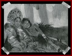 Russian princess and African dancer Gerb's dolls.