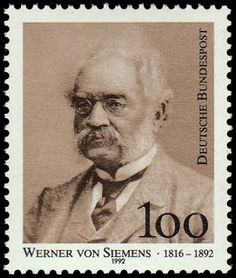 On December 13, 1816, German inventor and industrialist Werner von Siemens was born. He was the pioneer of the electro industry and brought about a great technological advancement with many of his important discoveries.