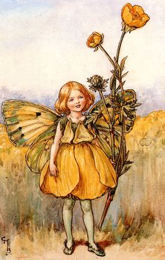CICELY MARY BARKER | THE SONG OF THE BUTTERCUP FAIRY