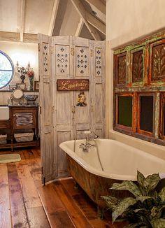 farbige badewannen ideen fr moderne badezimmer - Badezimmer Shabby Chic